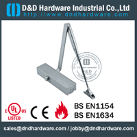Aluminium Alloy Safety Y type Door Closer for Metal Door- DDDC-20A