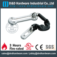 Zinc Alloy high quality classical door chain for Wood Door -DDDG012
