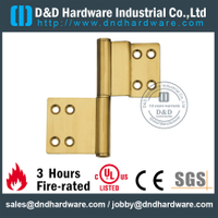 DDBH021-Solid brass special flag hinge for Hotel Door