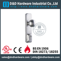 Stainless Steel 304 Escutcheon Fire Rated Knob Trim for Exit Metal Door -DDPD013
