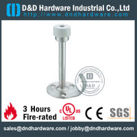 Stainless steel upright door holder with rubber for Home Door- DDDS061
