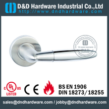 Modern 304 stainless steel special solid lever handle for Wood Door- DDSH134